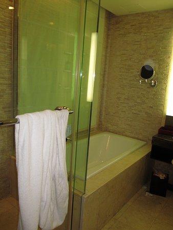 Pullman Bali Legian Beach: Shower & Bath Tub