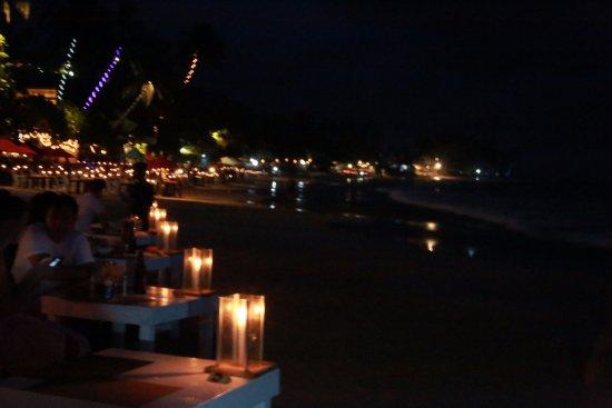 Candle light dinner looking over the ocean salt salt restaurant bar mozeypictures Image collections