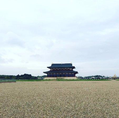 Heijokyu Ruins: 本当に「跡」という感じがします