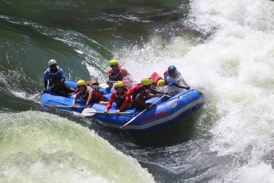 Livingstone, Zambia: White water rafting