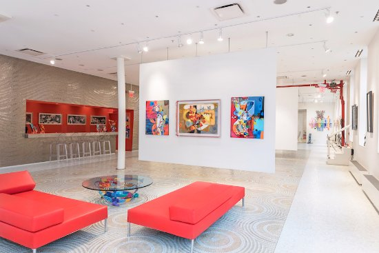 A Look From The Inside Picture Of Eden Fine Art Gallery New York