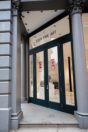 The Entrance Picture Of Eden Fine Art Gallery New York City
