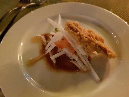 Gruss aus der Küche: Gemüse im Tempurateig - Picture of Glaze Bali ...