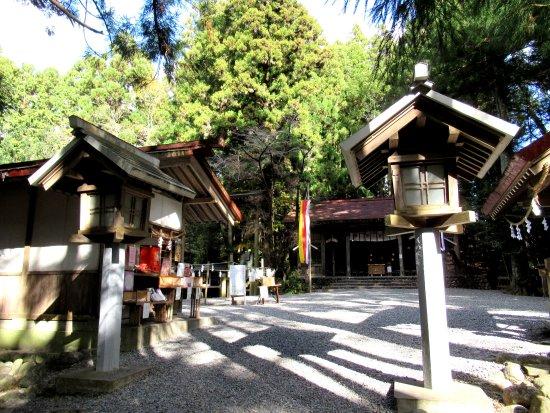 Akihasanhongu Akiha Shrine Shimosha