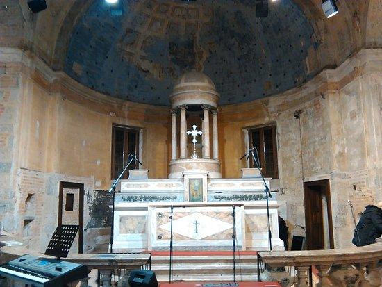 Chiesa di San Pietro all'Olmo: Altare principale