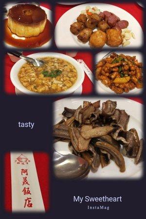 A Mei Restaurant: 實物拍攝