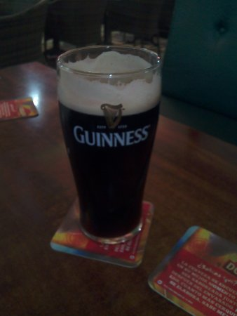 Paddy McGinty's: Cant beat good irish Guiness