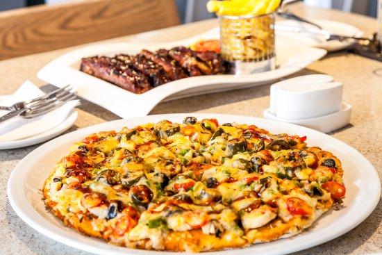 Francistown, Botswana: Pizza