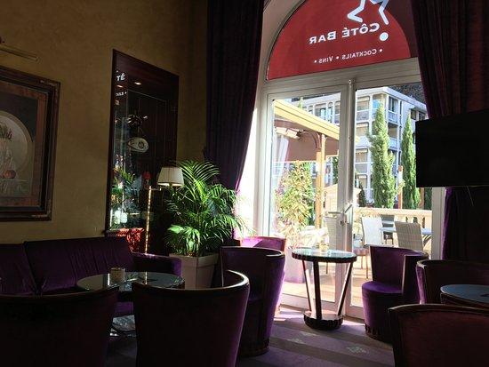 Hôtel Princesse Flore : Lounge