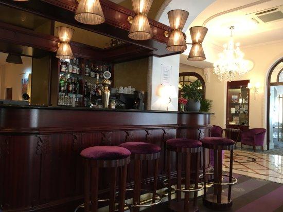 Hôtel Princesse Flore : Bar lounge