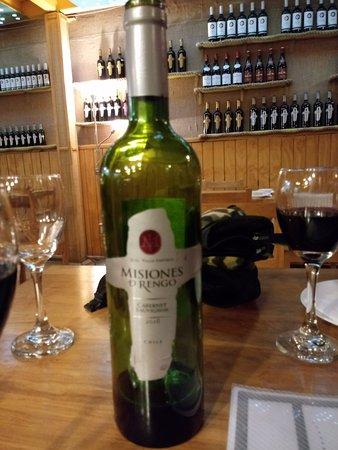 Brocolino Restaurante: bom Vinho
