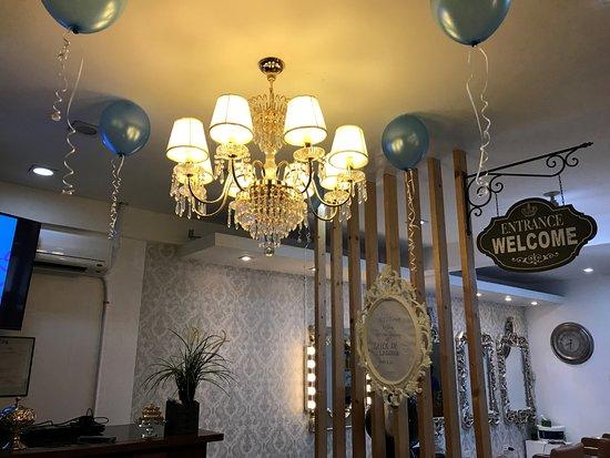 grand opening of salon de lagoona in bgy san antonio sto tomas
