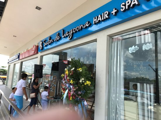 Grand Opening Of Salon De Lagoona In Bgy San Antonio Sto