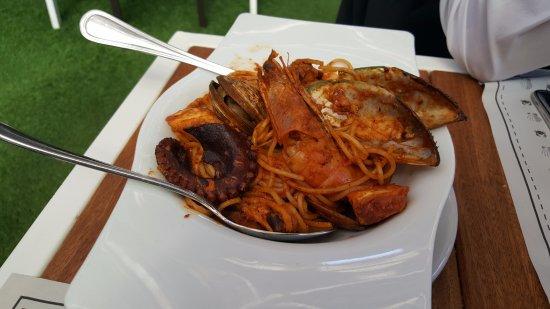 Juriquilla, Mexico: Seafood Spaghetti