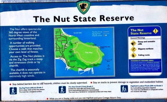 Stanley, Australien: Descriptive Signage