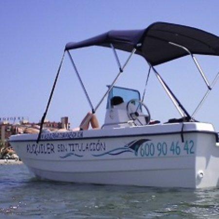Mar de Cristal, Spain: Alquiler de barco sin titulación para 6 personas - La Manga