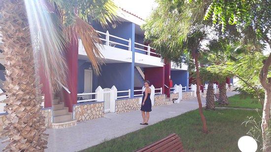 Espargos, Cabo Verde: Przyjemny hotel, bus do Santa Maria codziennie gratis ;)
