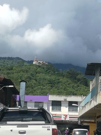 Tenom, Malaysia: View from Town