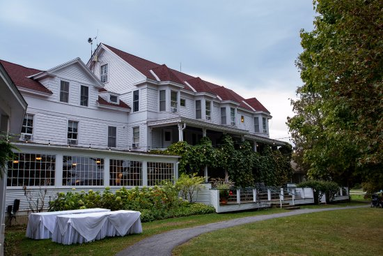 Vergennes, VT: The Main Lodge at Basin Harbor. Original inn. photo by Sunny Coastlines.
