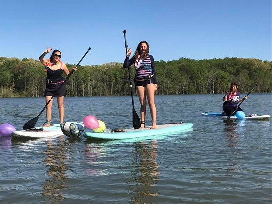 Belmont, NC: Celebration SUP out on the Catawba River