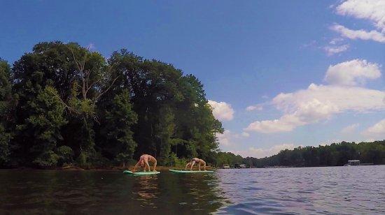 Belmont, Carolina del Norte: SUP FIT on Lake Wylie