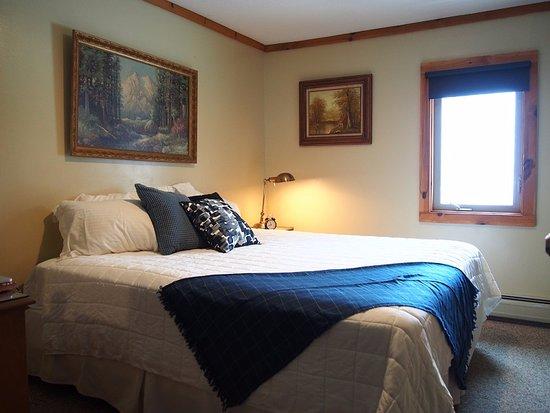 Killington, VT: King Bedroom