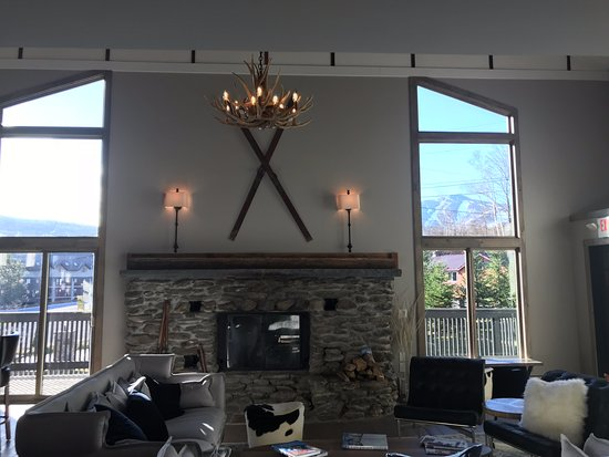 View of Killington Mountain from our Fireplace Lounge