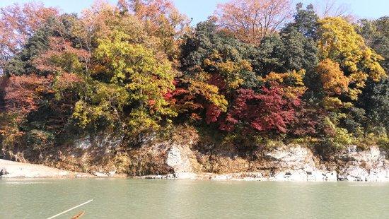 Nagatoro River White Water Rafting : 兩岸風光