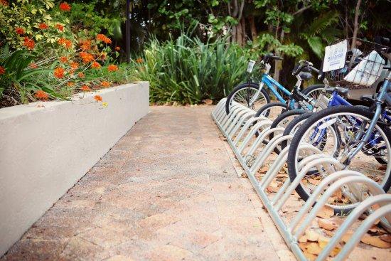Sanibel Moorings Resort: On site bike rentals
