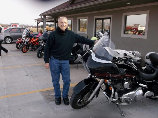 Ashland, MO: Many motorcyclists drop in. The owner is a biker too!