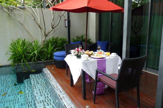 Ramada Khao Lak Resort: Terrasse Pool Suite