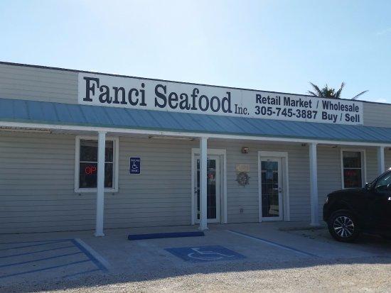 Cudjoe Key, FL: Fanci Seafood storefront