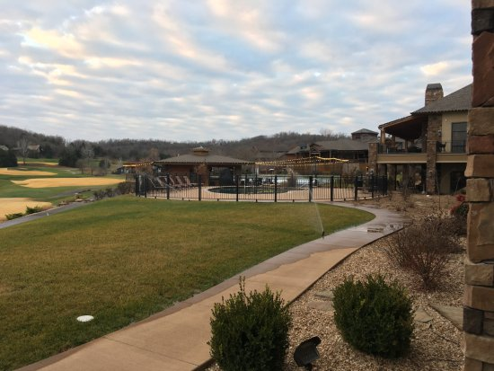 Camdenton, MO : The view from our patio at the lodge.