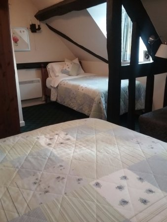 The Croft Bridgnorth: Room 12 at The Croft in Bridgnorth(double & single bed)