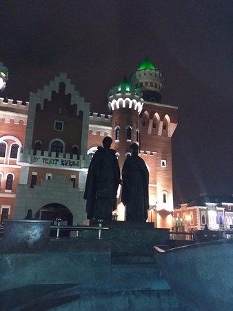 Γιοσκάρ-Ολά, Ρωσία: Памятник Петру и Февронии.