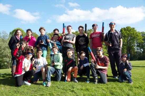 Cobham, UK: Laser Tag school trips