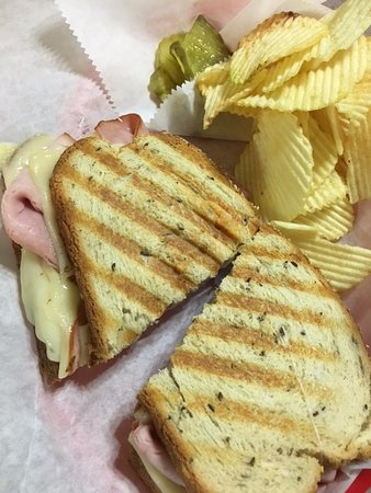 Trinidad, CO : Ham & Swiss Panini