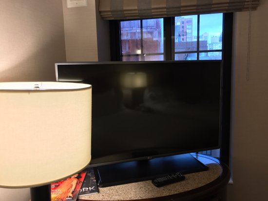 Hilton New York Grand Central: TV blocking my one window