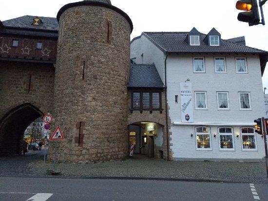 Julich, Tyskland: Hotel am Hexenturm