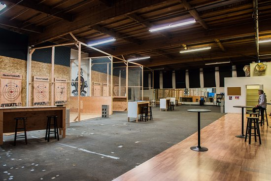 Daly City, CA: Inside look at Bad Axe Throwing San Fran