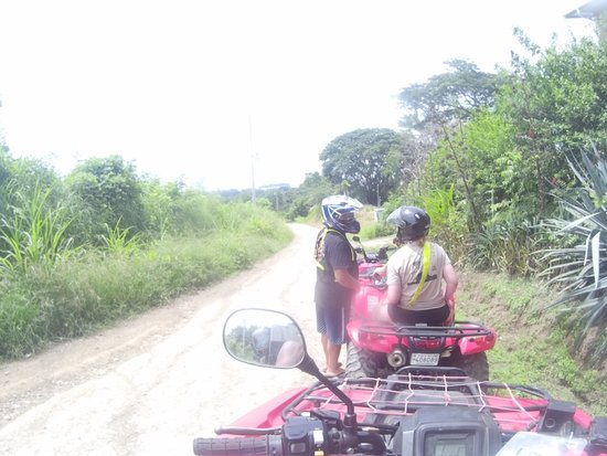Mal País, Costa Rica: the included ATV Tour into the rainforest