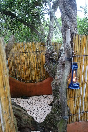 Paterson, South Africa: shower! :-)