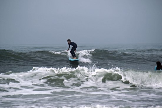 Esposende, Portugal: Axel numa aula de Surf da Salt Flow