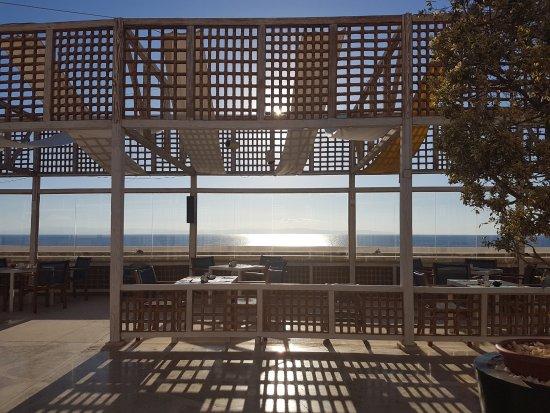 Le Meridien Dahab Resort: Frühstücksterasse