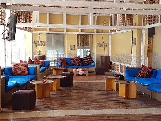 Le Meridien Dahab Resort: Shisha Bereich
