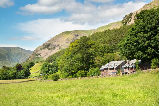 Thirlmere, UK: View of The Lodge Of The Vale