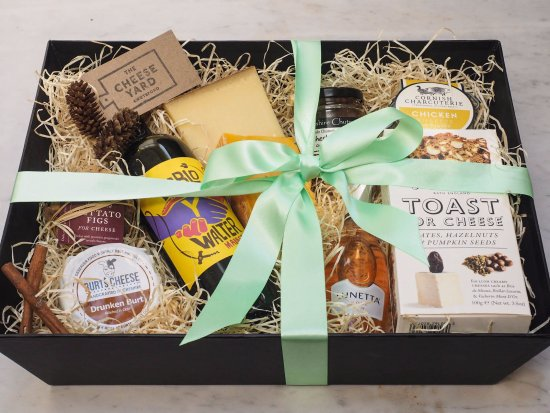 Luxury gift hamper picture of the cheese yard knutsford the cheese yard luxury gift hamper negle Gallery