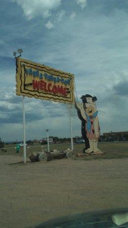 Williams, AZ: Bye Bedrock City until next time.