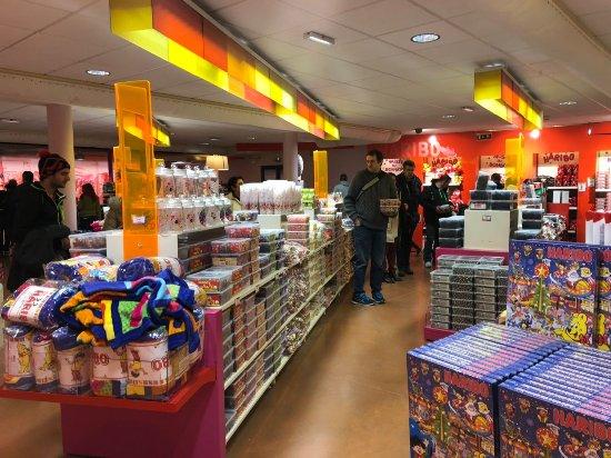 Musée Haribo : la boutique