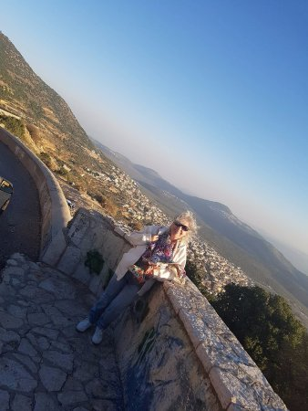 Hurfeish, إسرائيل: בדרך מחורפיש לכרמיאל   נוף  יפה מאד כפרים  .  עצרנו ונהננו מאד.